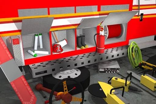 Fix My Truck: Fire Engine LITE截图6
