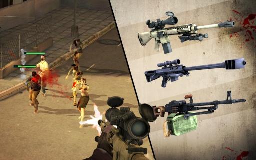 僵尸猎人:死亡之战截图1