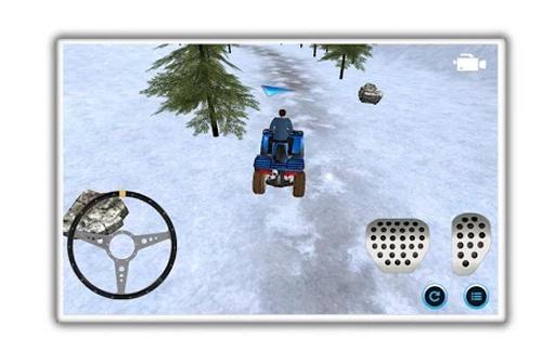 雪地车停车的冒险截图3