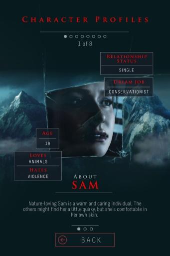 Until Dawn™:截图2