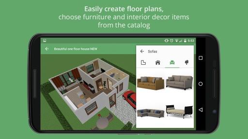 Planner 5D - Home Design截图0