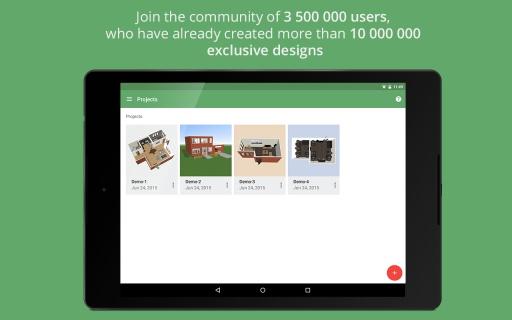 Planner 5D - Home Design截图1