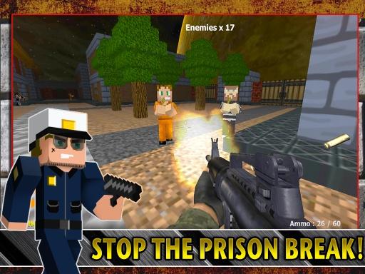 警察VS強盜獵人遊戲截图0