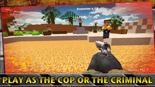 警察VS強盜獵人遊戲截图1