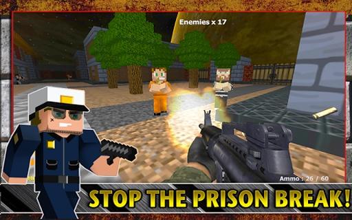 警察VS強盜獵人遊戲截图3