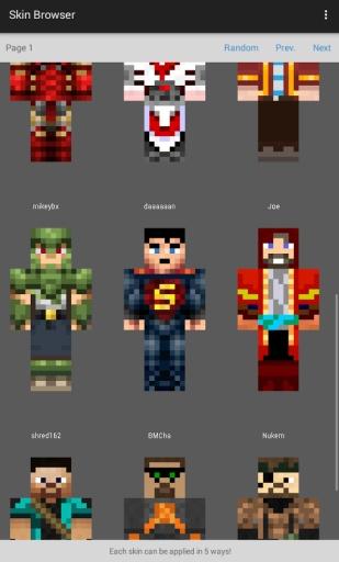 Skin Browser for Minecraft截图3