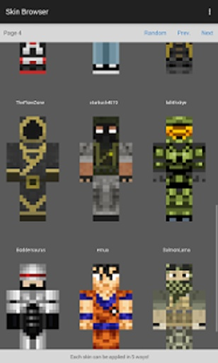 Skin Browser for Minecraft截图4