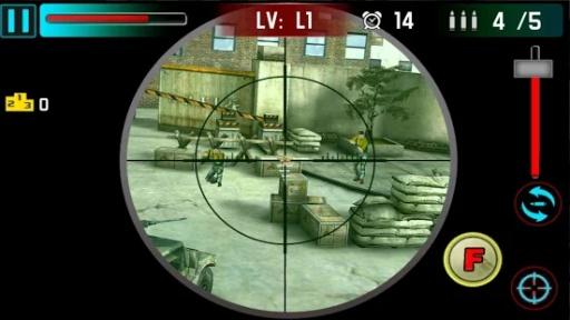 狙击手射击战争3D截图2