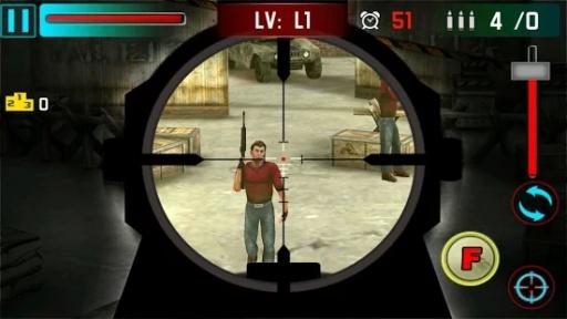 狙击手射击战争3D截图3