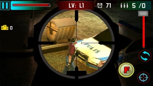 狙击手射击战争3D截图5
