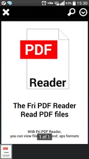 Fri PDF XPS 阅读器截图0
