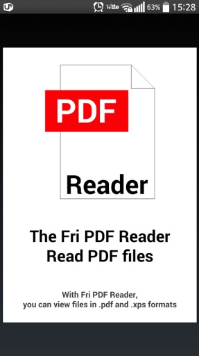 Fri PDF XPS 阅读器截图5