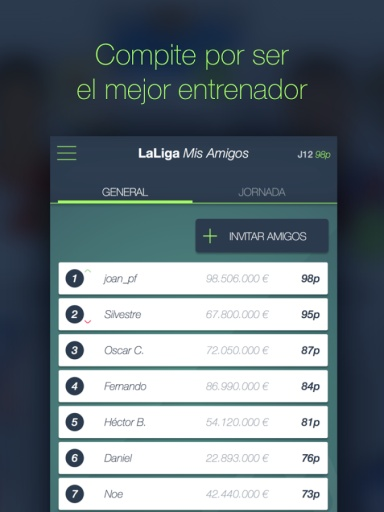 LaLiga Fantasy Oficial Manager截图0