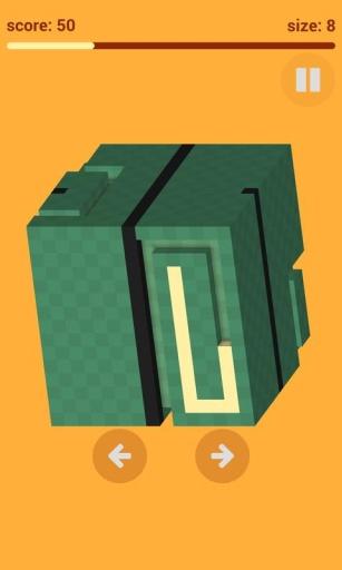 3D像素贪吃蛇:Voxel