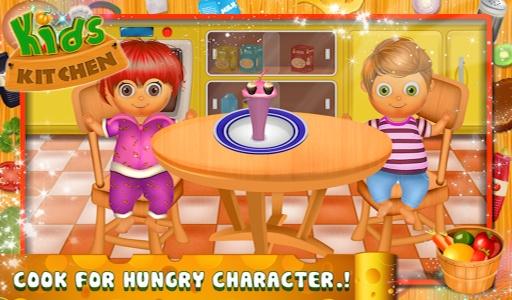 儿童厨房 - 烹饪游戏截图0
