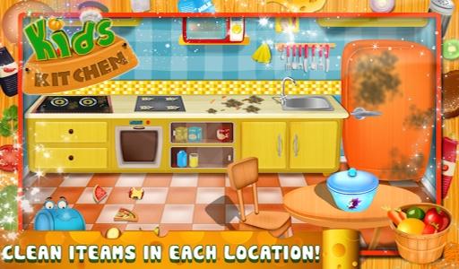 儿童厨房 - 烹饪游戏截图1