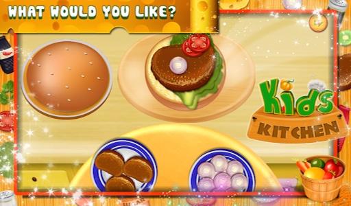 儿童厨房 - 烹饪游戏截图2