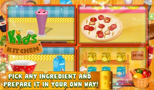 儿童厨房 - 烹饪游戏截图3