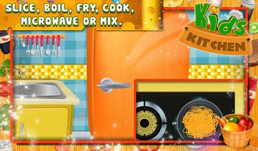 儿童厨房 - 烹饪游戏截图4