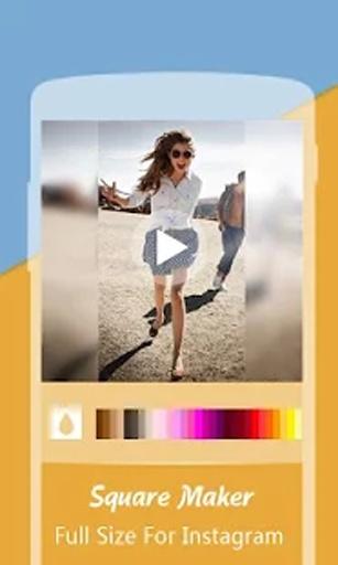 小方: 完美方形视频与图片编辑器截图2