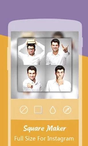 小方: 完美方形视频与图片编辑器截图5
