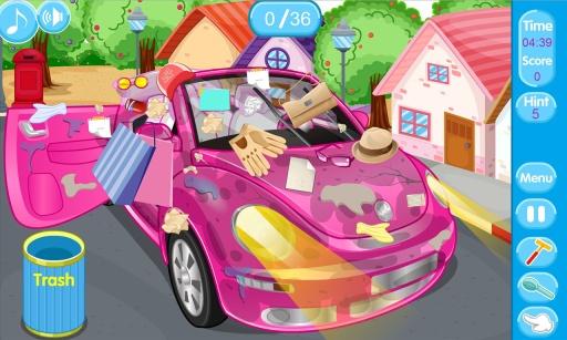 清洗新买的粉色甲壳虫