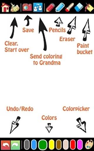 绘画和绘图的孩子