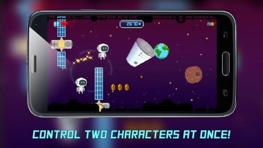 JetSpin Hustle - Space Arcade截图2