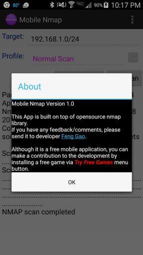 Mobile Nmap截图1