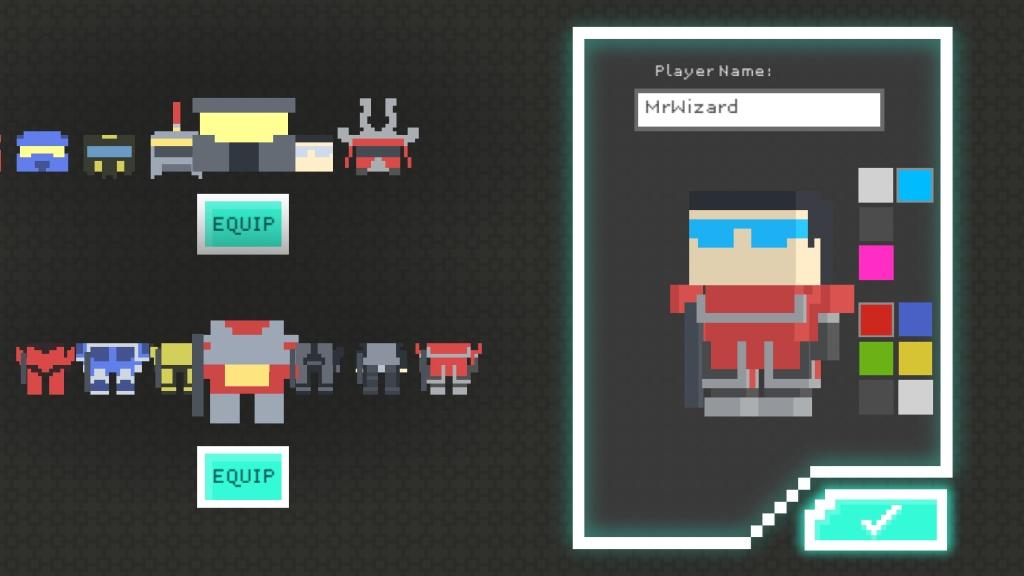 像素战争:星际守护者 完整版截图1