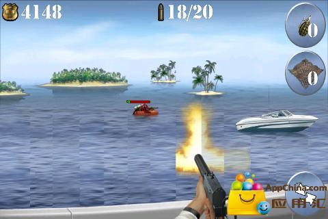 快艇射击截图4