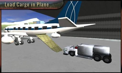 机场飞机地勤人员的3D截图1