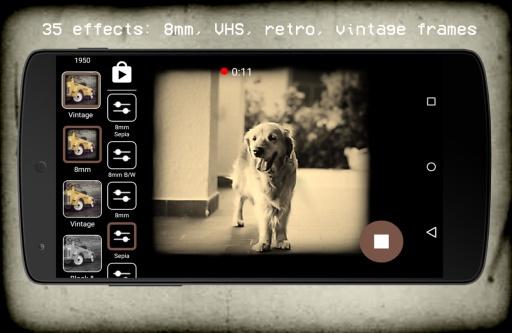Vintage Retro Camera + VHS截图0