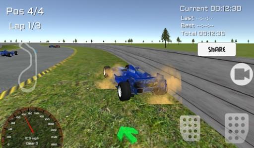 免费3D实景方程式赛车