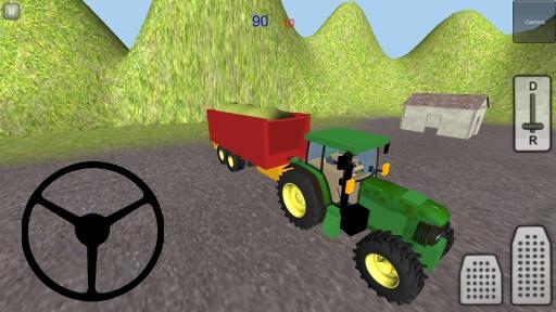 拖拉机仿真3D:青贮