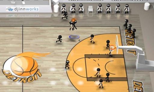 火柴人篮球截图2