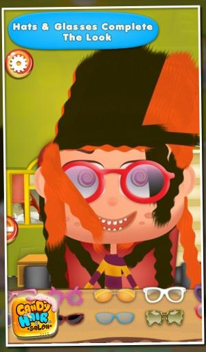 糖果美发沙龙 - 儿童游戏截图0