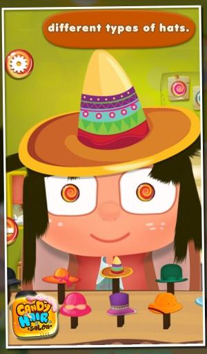 糖果美发沙龙 - 儿童游戏截图3