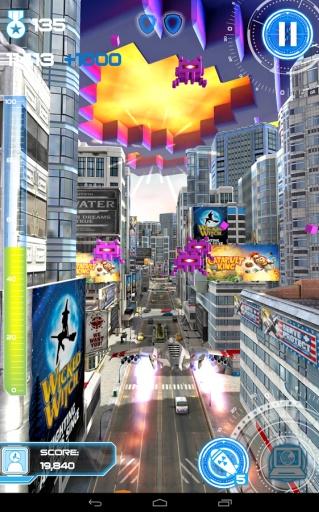 喷气机跑酷:城市保卫者截图0