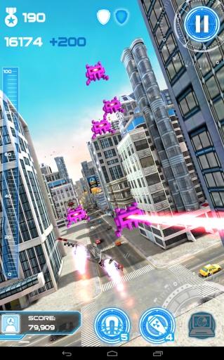 喷气机跑酷:城市保卫者截图1