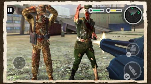 Zombie Combat: Trigger Call 3D截图0
