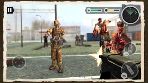 Zombie Combat: Trigger Call 3D截图2