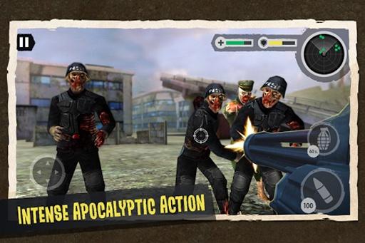 Zombie Combat: Trigger Call 3D截图3