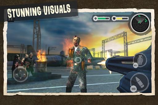Zombie Combat: Trigger Call 3D截图4