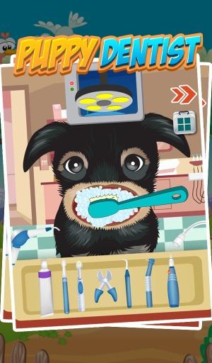 小狗牙医 - 儿童游戏