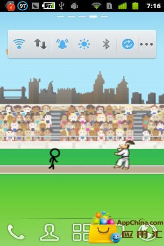 玩個人化App|火柴人奥林匹克动态壁纸免費|APP試玩