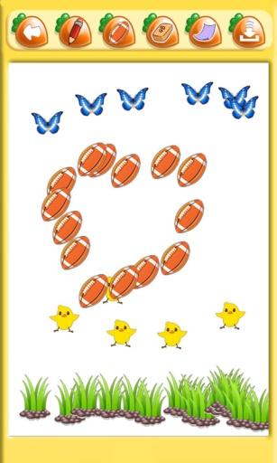 儿童游戏宝宝涂色截图3