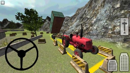经典3D拖拉机:青贮