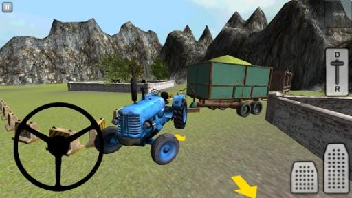 经典3D拖拉机:青贮截图1