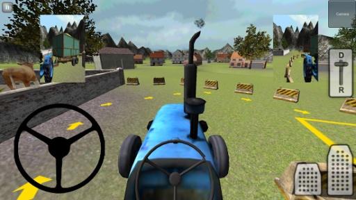 经典3D拖拉机:青贮截图2